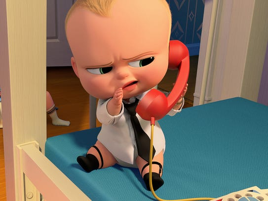 Alec Baldwin is the voice of 'The Boss Baby.'