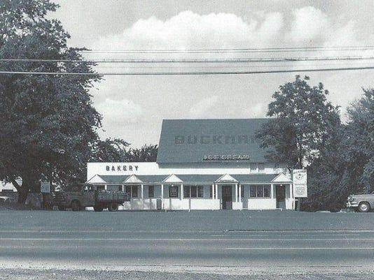 Buckmans exterior - 1956