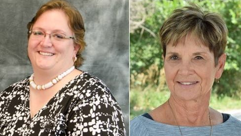 Lynn Greer and Barbara Kruse are running for District F on the Thompson School District Board of Education