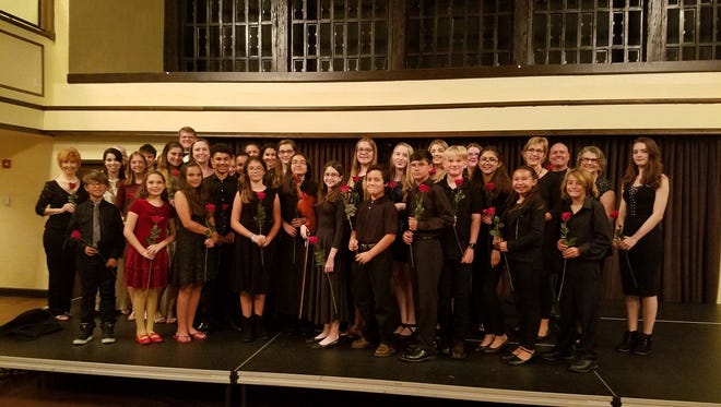 Students from the Stuart School of Music performed in concert at the Harriet Himmel Theater in CityPlace.