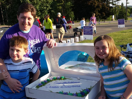 06-13-14 Relay for Life - 20 yr Cancer Survivor Anniversary (6)