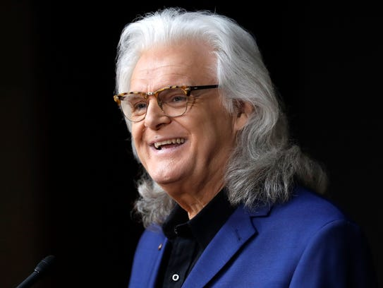 Ricky Skaggs speaks at a news conference announcing