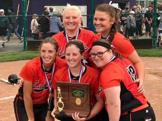 North Union seniors softball
