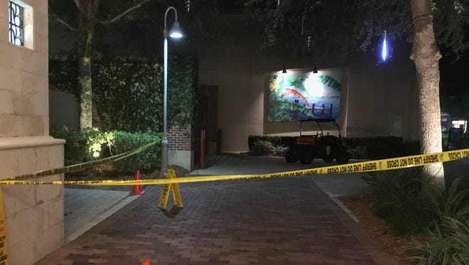 A 5-year-old boy was struck by a golf cart at the Avenue Viera.
