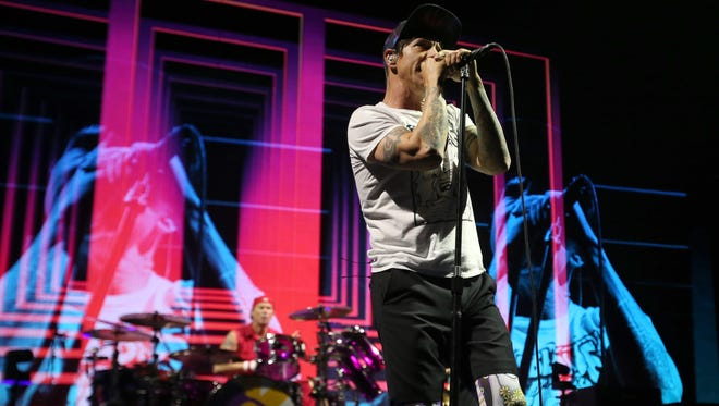 Red Hot Chili Peppers perform at FedExForum.