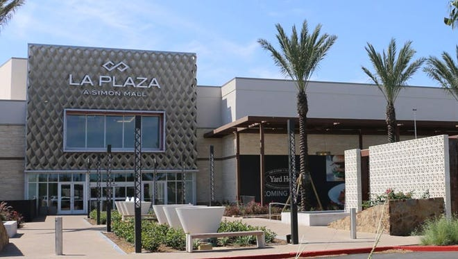 Police are on the scene of a shooting at LaPlaza Mall in McAllen.
