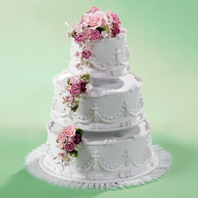 A Wedding Cake From Food City.