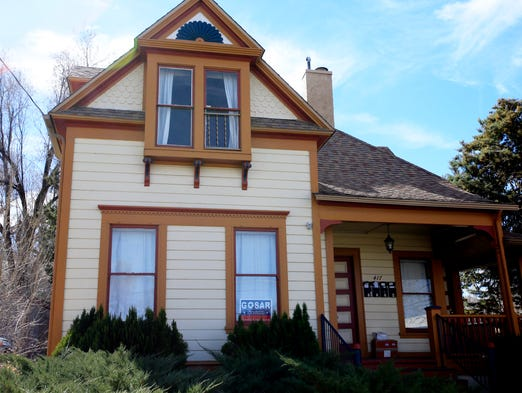 <p>U.S. Rep. Paul Gosar, R-Ariz., once lived full-time with his family in a 2,500-square-foot custom cabin tucked into the Flagstaff woods. Now he rents an apartment in this Prescott triplex.</p>