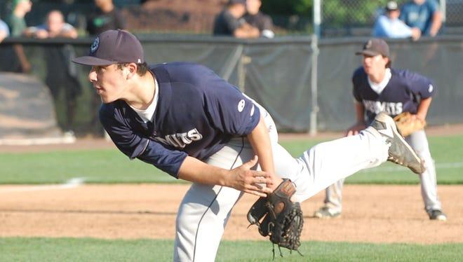 A sophomore, Jack Billings has six saves this season for the St. Augustine Prep baseball team.