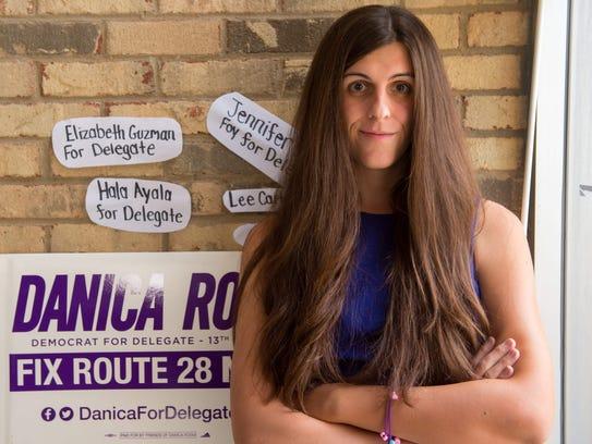 Danica Roem, a Democrat for Delegate in Virginia's