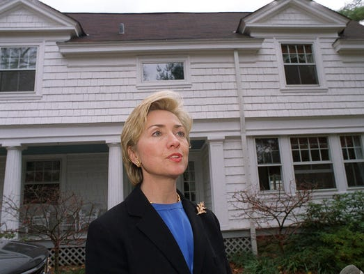 Short Of White House Clintons Have Chappaqua