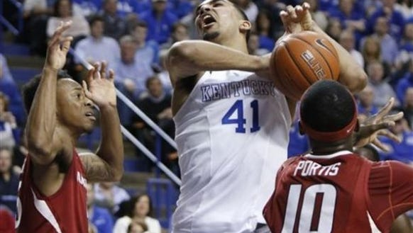 Trey Lyles and the Kentucky Wildcats improved to 34-0