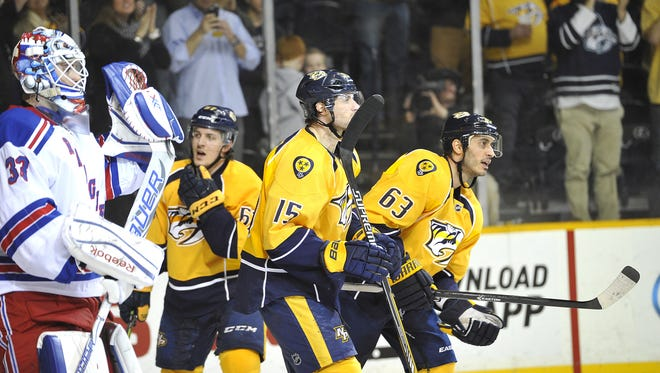 The Predators are 4 for 46 on the power play since Feb. 19, coinciding with a 4-9-2 span.