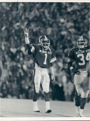 Former Michigan State star Andre Rison was selected to the Michigan Sports Hall of Fame as part of the 2017 class.