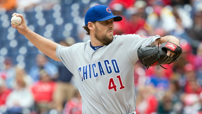 John Lackey struck out eight in seven dominant innings.