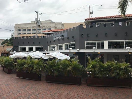 Bella Vita Grill is in Patio de Leon in downtown Fort