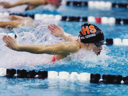 Northville's Kelsey Macaddino was victorious in the