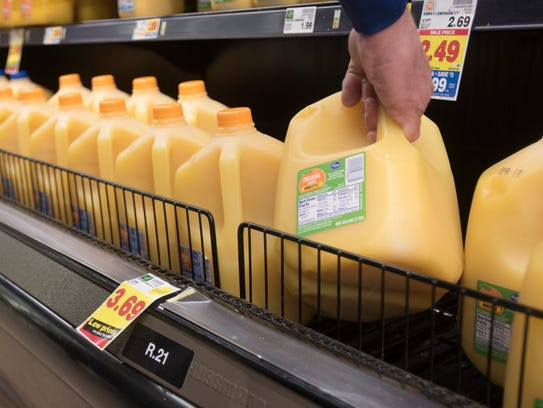 Shelves in Kroger are labeled with identifying letters and numbers so ClickList pickers can find items in a time-efficient manner.