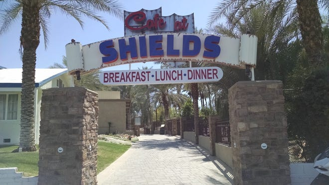 A sign welcomes breakfast, lunch and now dinner guests to Cafe at Shields.