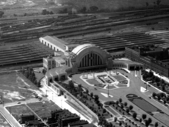 July 17, 1939: Aerial view of Union Terminal.