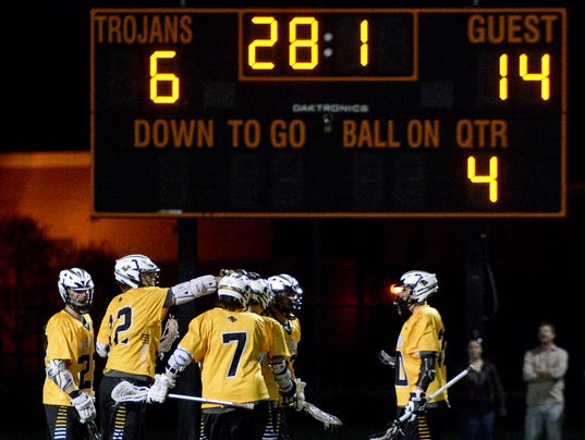 Red Lion vs York Suburban boys' lacrosse,