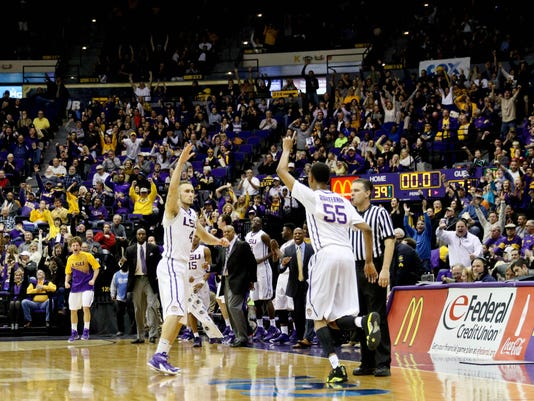 NCAA Basketball: Georgia at Louisiana State