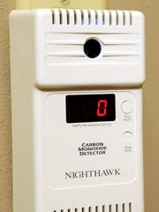 A carbon monoxide detector can save lives in homes.