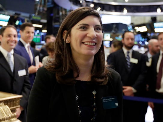 Stacey Cunningham, the current New York Stock Exchange