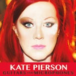 """""""Guitars and Microphones,"""" album by Kate Pierson."""