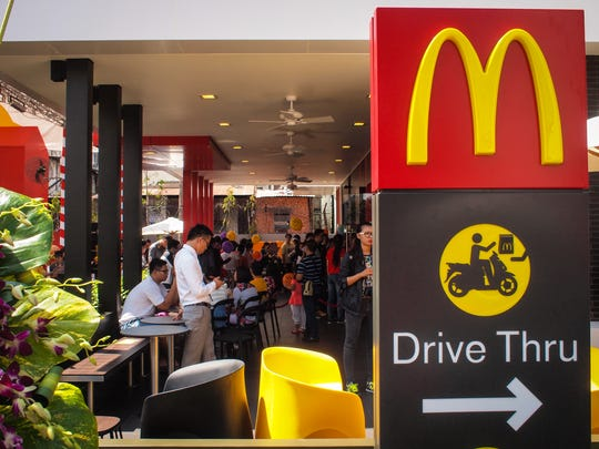 opening day at the first mcdonalds in vietnam in ho chi minh city on feb 8 photo thomas maresca special for usa today - Mcdonalds Open Christmas Day 2014