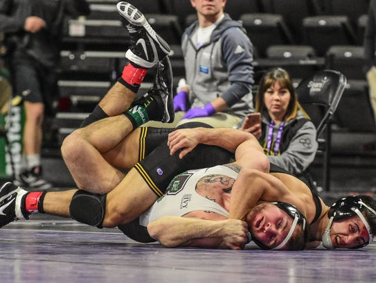 Iowa's Michael Kemerer turns Brown's Justin Stuadenmayer