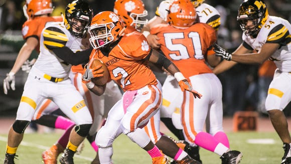 Central York's Noreaga Goff (2) will compete for the