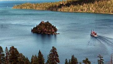 Emerald Bay at Lake Tahoe.