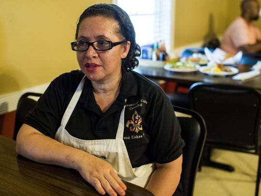 Veronica Alexander, co-owner of Veronica's Cafe, speaks about her restaurant in Carencro.