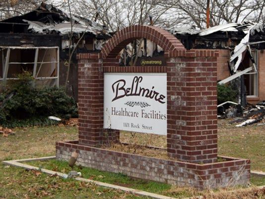 Burned Bellmire facility