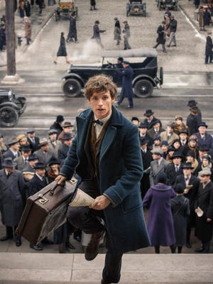 "Eddie Redmayne stars in ""Fantastic Beasts and Where to Find Them."""