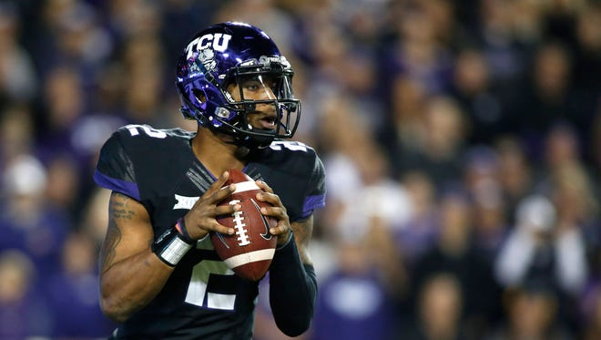 TCU quarterback Trevone Boykin is an early contender for the 2015 Heisman Trophy.