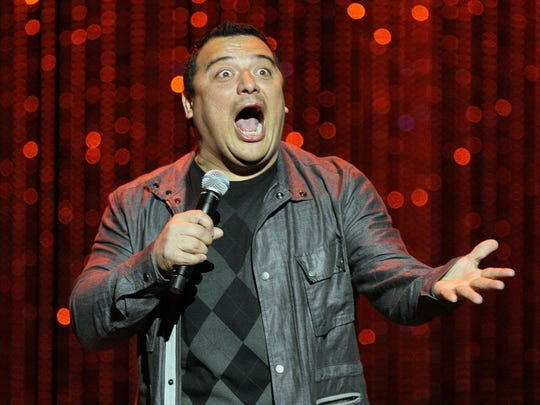 Carlos Mencia brings his brash brand of comedy Nov. 10 to the Visalia Fox Theatre.