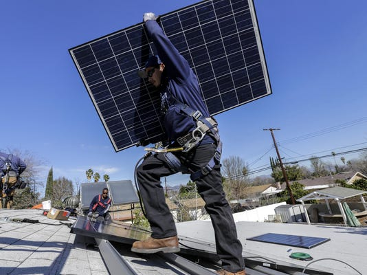 Starting in 2020, all new homes in California must come with solar panels. Builders are getting ready
