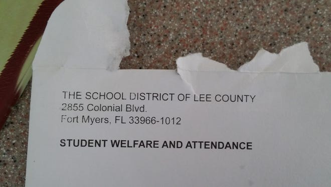 Some homeschool families in Lee County received a strange letter – or, in some cases, nine copies of the same letter – from Lee schools in the mail last week.
