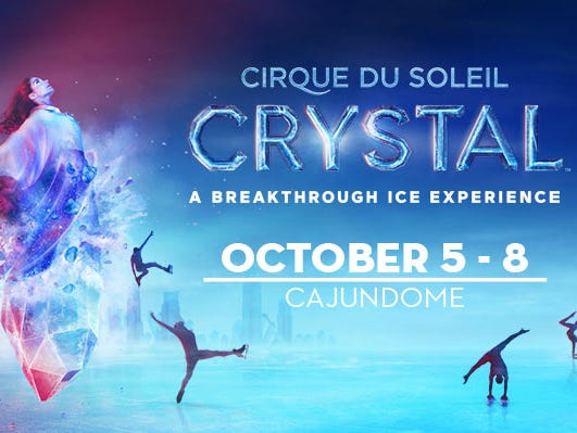 Enjoy a family night at Cirque du Soleil Crystal on October 5th. We're selecting 3 winners!