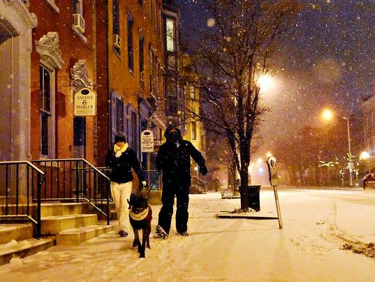 Winter Storm Jonas begins