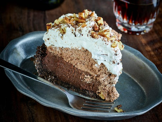 Chocolate cream pie is just one of the desserts available