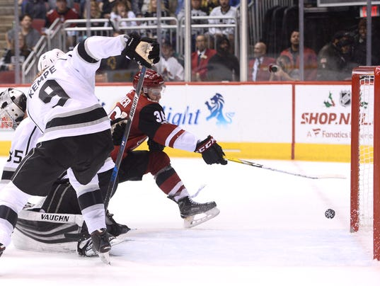 NHL: Los Angeles Kings at Arizona Coyotes