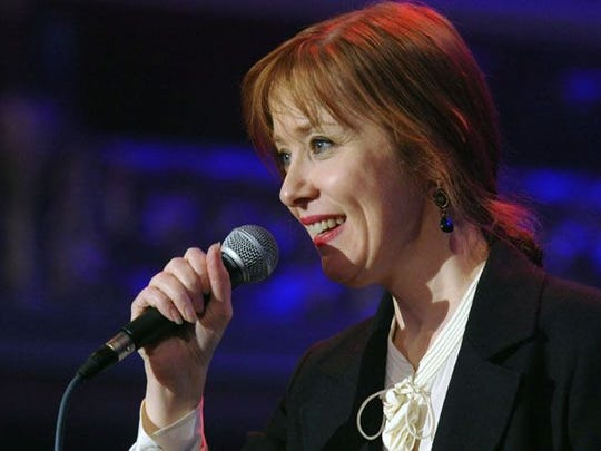 """Suzanne Vega, of """"Luka"""" and """"Tom's Diner"""" fame, performs"""
