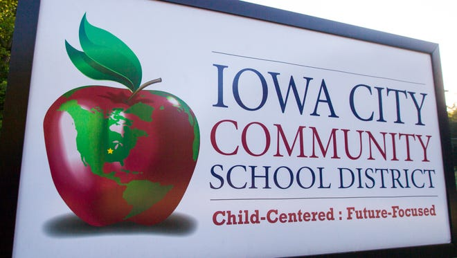 Iowa City Community School District administrative office is seen on Tuesday, July 24, 2018, in Iowa City, Iowa.