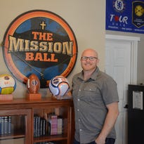 The Mission Ball sends Scripture around the world on soccer balls