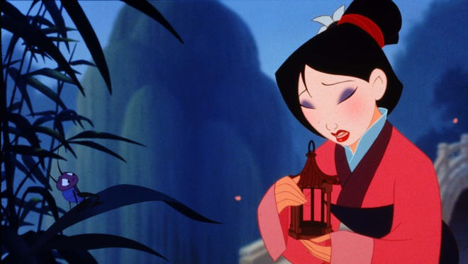 The 1998 animated 'Mulan' is a Disney classic that has made more than $300 million worldwide.