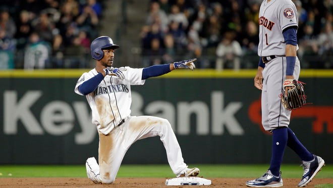 The Mariners' Jarrod Dyson is one of only two players (along with Houston's Jose Altuve) to have at least 25 stolen bases in each of the past five seasons.