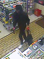 Two men who robbed two convenience stores in Lee County